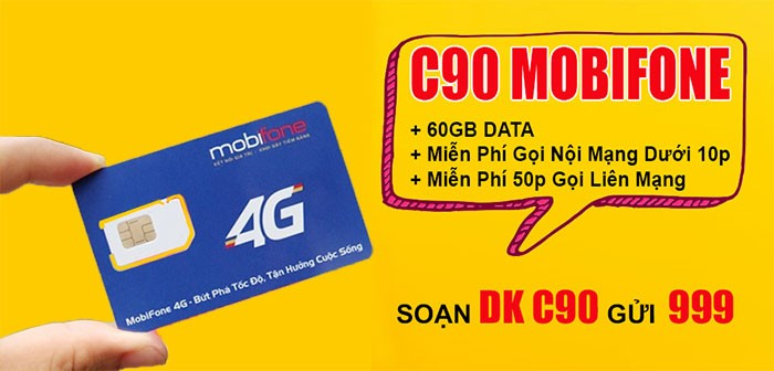 Giải đáp những thông tin về sim C90 Mobifone