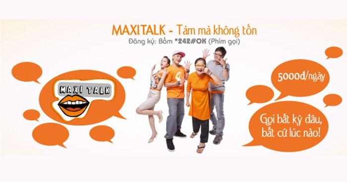 Những thông tin cần biết về gói Maxi Talk Vietnamobile