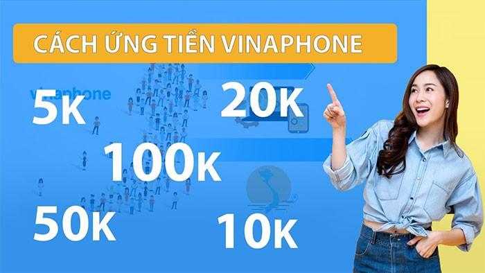 Cách ứng tiền mạng Vinaphone như thế nào?