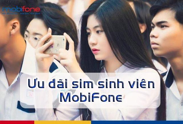 Các Gói Sim sinh viên Mobifone Nhiều Ưu Đãi Nhất 2020